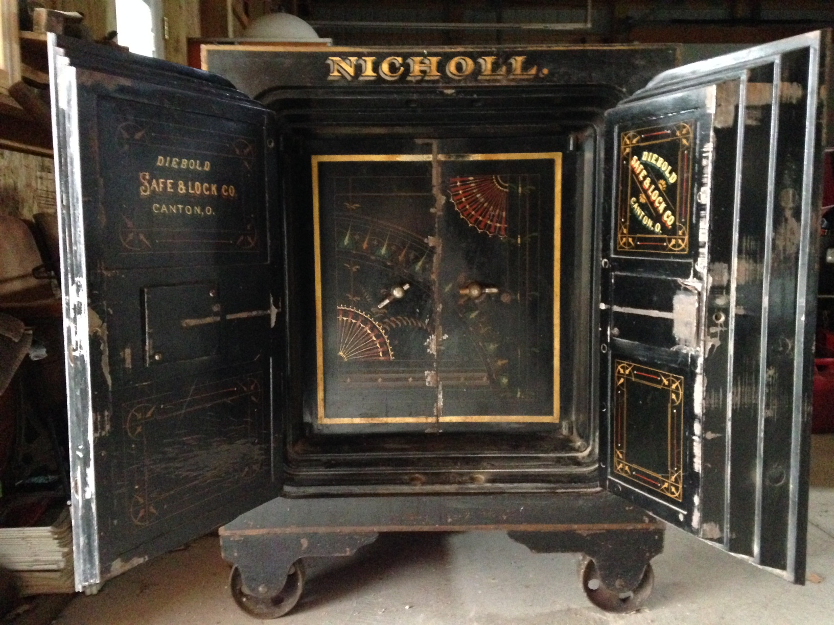 Nicholl Safe' Now Safe | The New Indian Ridge Museum