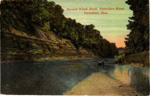 A postcard we recently acquired for the Museum's extensive and growing postcard collection. Postcards are ideal for the Museum, as they depict views of the past. In this particular case, however, this view of the second shale cliff has changed little over the years since this card was published.