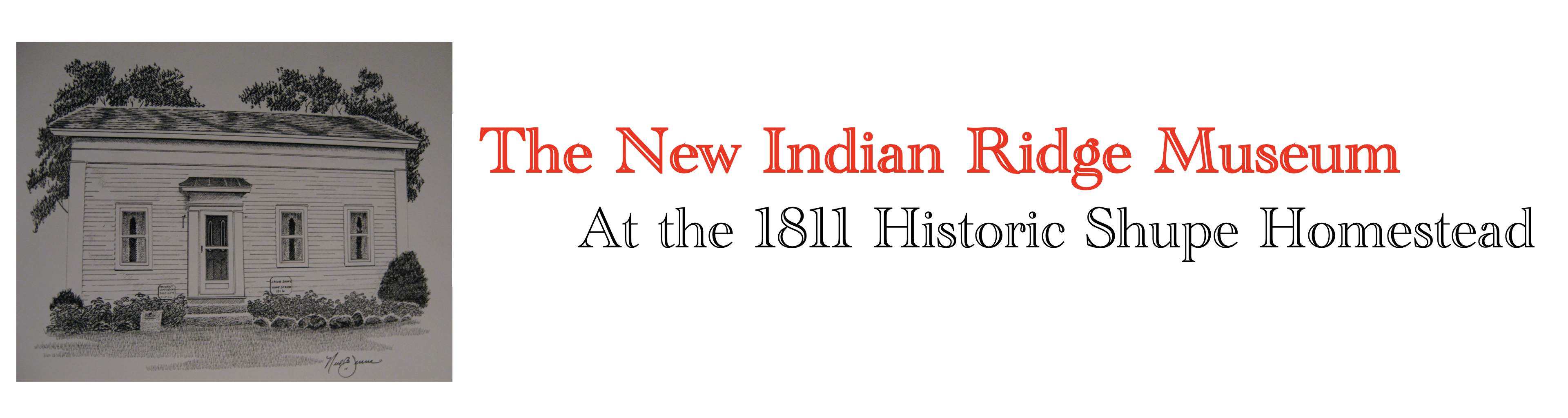 Logo for The New Indian Ridge Museum